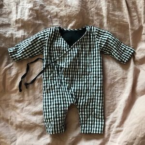 Quilted suit for baby